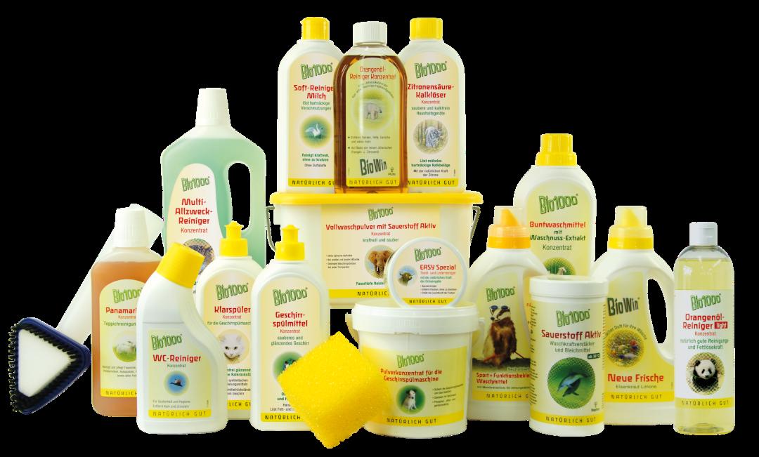 Produktpalette BioWin - Bio1000